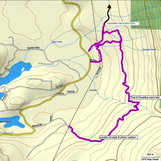 AC Canyon Trail Map
