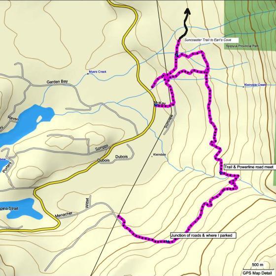 AC Canyon Trail Map
