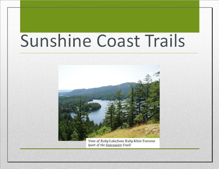 Cover of Sunshine Coast Trails eBook