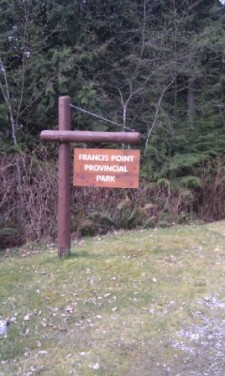 Francis Point sign