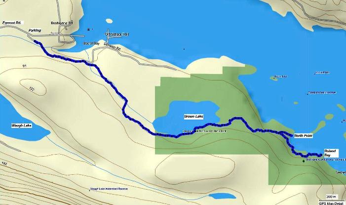 Skookumchuck trail map