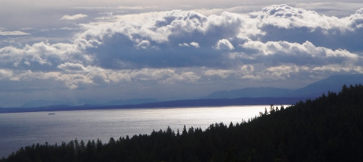 View Towards Vancouver Island