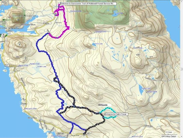 Alternate Suncoaster Trail routes