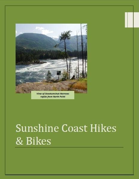 Sunshine Coast Trails Hikes & Bikes eBook cover