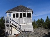 Mount Hallowell Fire Tower