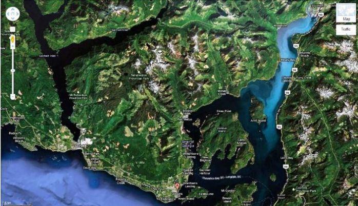 Geography of the Sunshine Coast