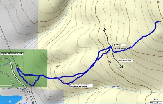 Huigis & Duggies trails