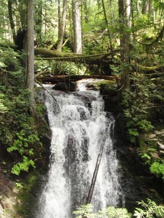 Roberts Creek Waterfall